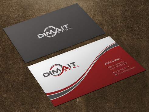 Dimait Business Cards and Stationery  Draft # 5 by Xpert