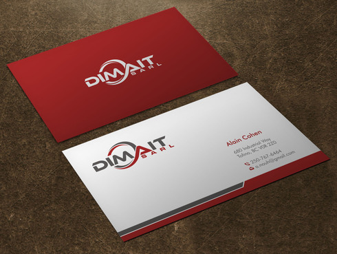 Dimait Business Cards and Stationery  Draft # 6 by Xpert