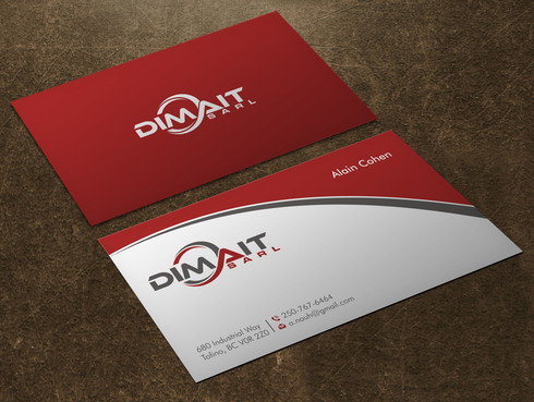 Dimait Business Cards and Stationery  Draft # 7 by Xpert