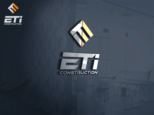 E.T.I Construction A Logo, Monogram, or Icon  Draft # 613 by Jaaaaay22