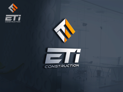 E.T.I Construction A Logo, Monogram, or Icon  Draft # 622 by Jaaaaay22