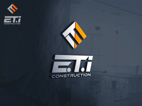 E.T.I Construction A Logo, Monogram, or Icon  Draft # 623 by Jaaaaay22