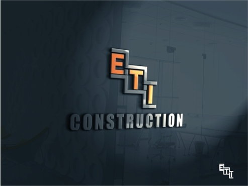 E.T.I Construction A Logo, Monogram, or Icon  Draft # 636 by fitri87