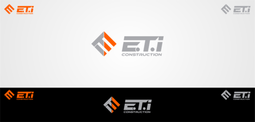 E.T.I Construction A Logo, Monogram, or Icon  Draft # 640 by Jaaaaay22