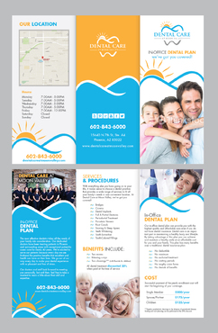 In-Office Dental Plan Marketing collateral Winning Design by Achiver