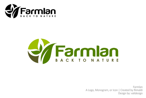 Farmlan A Logo, Monogram, or Icon  Draft # 66 by validesign