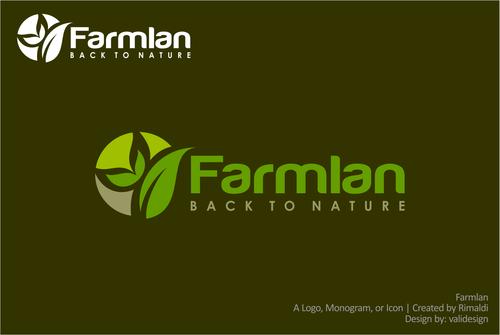 Farmlan A Logo, Monogram, or Icon  Draft # 67 by validesign
