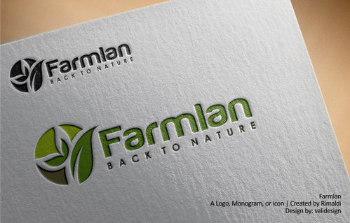 Farmlan A Logo, Monogram, or Icon  Draft # 68 by validesign