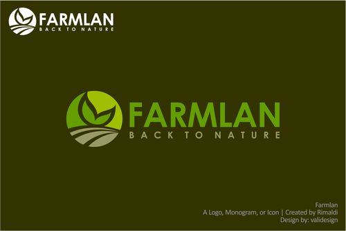 Farmlan A Logo, Monogram, or Icon  Draft # 70 by validesign