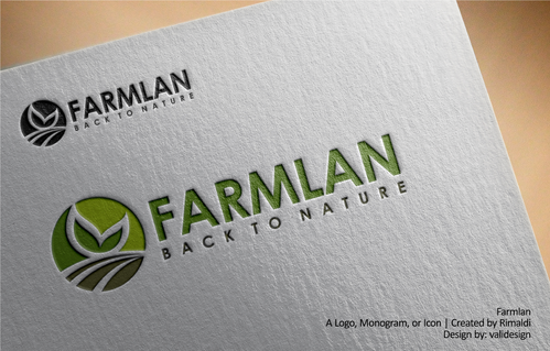 Farmlan A Logo, Monogram, or Icon  Draft # 71 by validesign