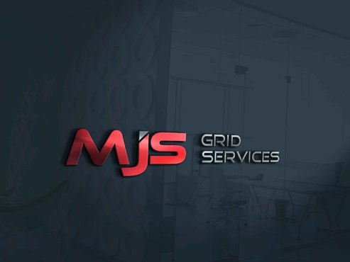 MJS Grid Services A Logo, Monogram, or Icon  Draft # 5 by Designeye