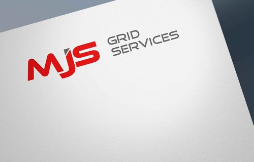 MJS Grid Services A Logo, Monogram, or Icon  Draft # 8 by Designeye