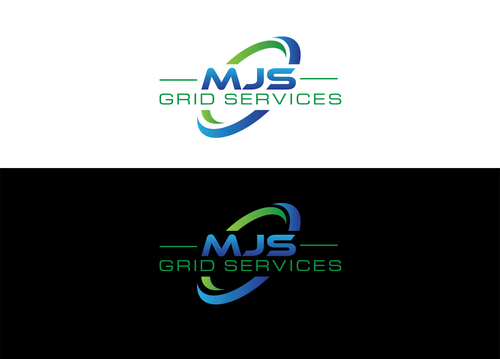 MJS Grid Services A Logo, Monogram, or Icon  Draft # 20 by LogoSmith2