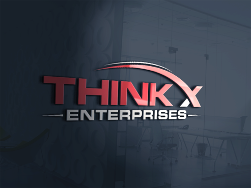 Think X Enterprises  A Logo, Monogram, or Icon  Draft # 3 by PrintMedia