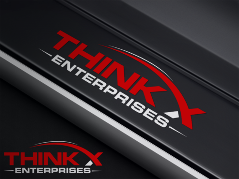 Think X Enterprises  A Logo, Monogram, or Icon  Draft # 4 by PrintMedia