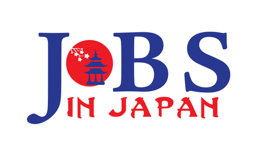 Logo for an online job site for foreigners wanting to work in Japna b