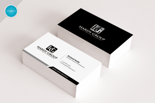 HARDY GROUP Business Cards and Stationery  Draft # 162 by aheadpoint