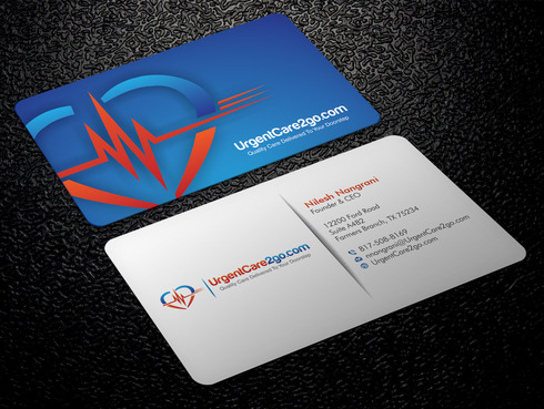 UrgentCare2go.com Business Cards and Stationery  Draft # 85 by Xpert