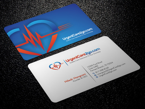 UrgentCare2go.com Business Cards and Stationery  Draft # 87 by Xpert