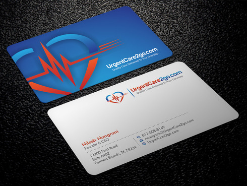 UrgentCare2go.com Business Cards and Stationery  Draft # 89 by Xpert