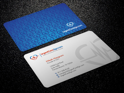 UrgentCare2go.com Business Cards and Stationery  Draft # 90 by Xpert