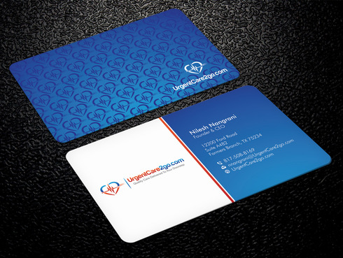 UrgentCare2go.com Business Cards and Stationery  Draft # 91 by Xpert