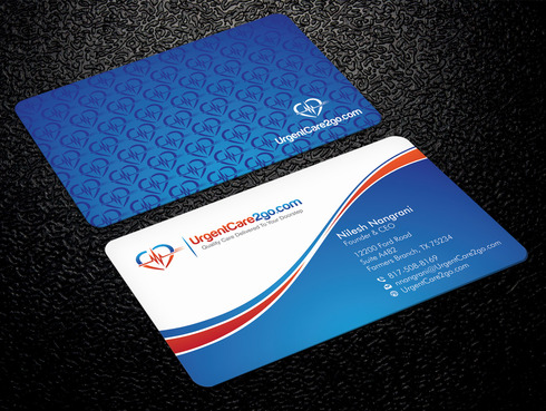 UrgentCare2go.com Business Cards and Stationery  Draft # 92 by Xpert