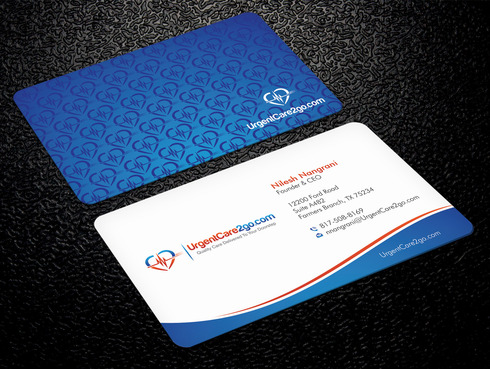 UrgentCare2go.com Business Cards and Stationery  Draft # 93 by Xpert