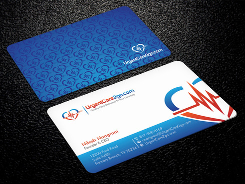 UrgentCare2go.com Business Cards and Stationery  Draft # 94 by Xpert