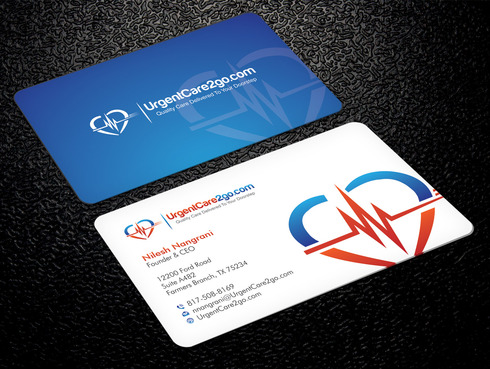 UrgentCare2go.com Business Cards and Stationery  Draft # 95 by Xpert