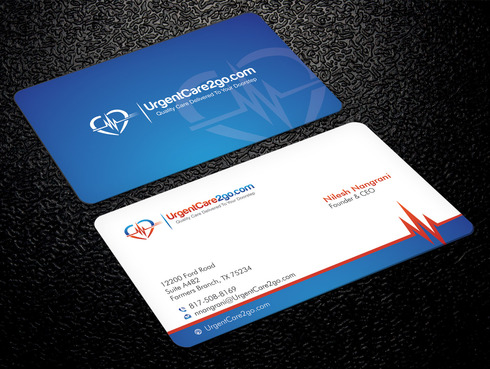 UrgentCare2go.com Business Cards and Stationery  Draft # 97 by Xpert