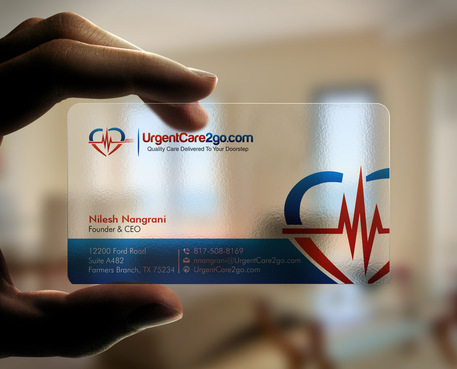 UrgentCare2go.com Business Cards and Stationery  Draft # 98 by Xpert