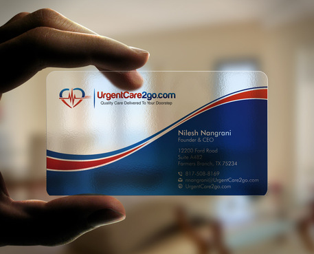 UrgentCare2go.com Business Cards and Stationery  Draft # 99 by Xpert