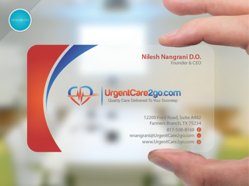 UrgentCare2go.com Business Cards and Stationery Winning Design by aheadpoint