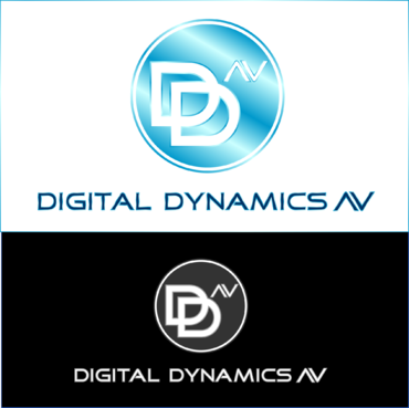Digital Dynamics AV Logo Winning Design by JBH141992