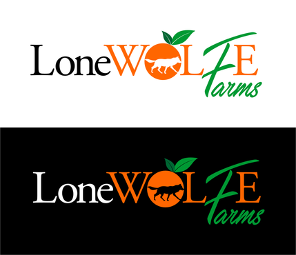 Lone Wolfe Farms A Logo, Monogram, or Icon  Draft # 145 by AGOENK72