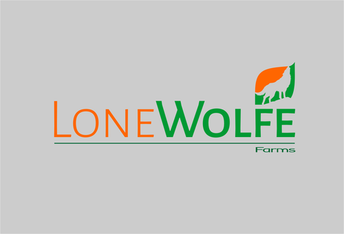 Lone Wolfe Farms A Logo, Monogram, or Icon  Draft # 351 by AGOENK72