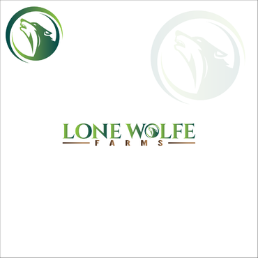 Lone Wolfe Farms A Logo, Monogram, or Icon  Draft # 353 by gauravgraphy