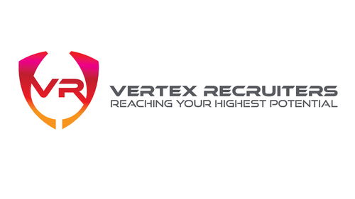 Vertex Recruiters Marketing collateral Winning Design by vikilogos