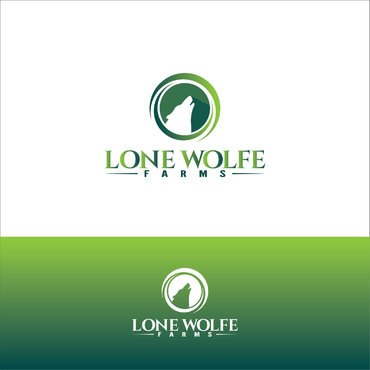 Lone Wolfe Farms A Logo, Monogram, or Icon  Draft # 383 by gauravgraphy