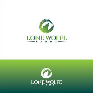 Lone Wolfe Farms A Logo, Monogram, or Icon  Draft # 385 by gauravgraphy
