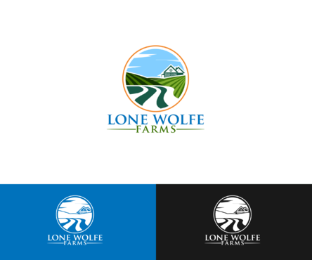 Lone Wolfe Farms A Logo, Monogram, or Icon  Draft # 390 by SmartBD
