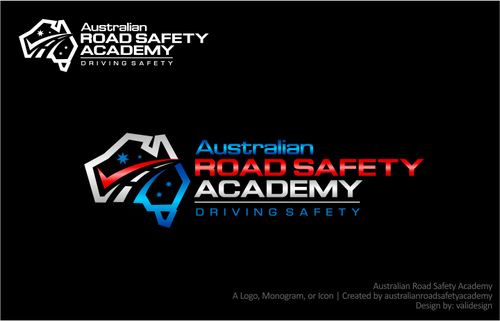 Australian Road Safety Academy A Logo, Monogram, or Icon  Draft # 186 by validesign
