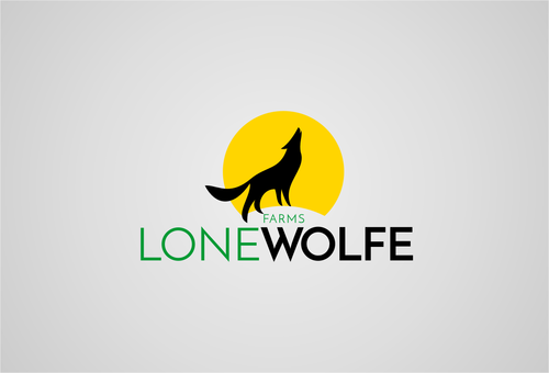 Lone Wolfe Farms A Logo, Monogram, or Icon  Draft # 429 by AGOENK72