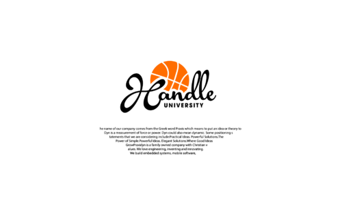 Handle University A Logo, Monogram, or Icon  Draft # 8 by LongliveUS