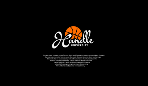 Handle University A Logo, Monogram, or Icon  Draft # 9 by LongliveUS