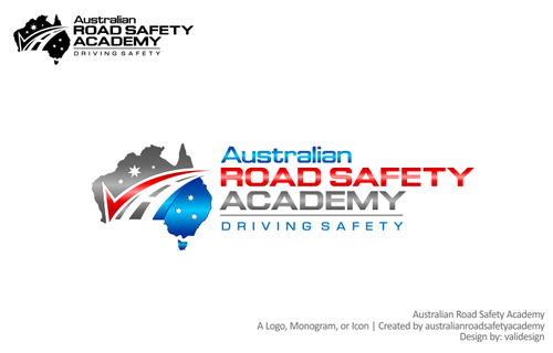 Australian Road Safety Academy A Logo, Monogram, or Icon  Draft # 204 by validesign