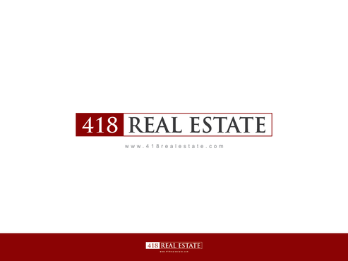 418 Real Estate A Logo, Monogram, or Icon  Draft # 31 by Chlong2x