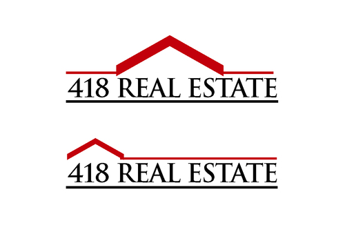418 Real Estate A Logo, Monogram, or Icon  Draft # 58 by bilalali