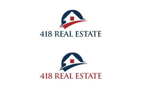 418 Real Estate A Logo, Monogram, or Icon  Draft # 59 by bilalali